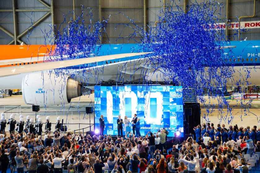 KLM100 Event Amsterdam Schipol June 2019