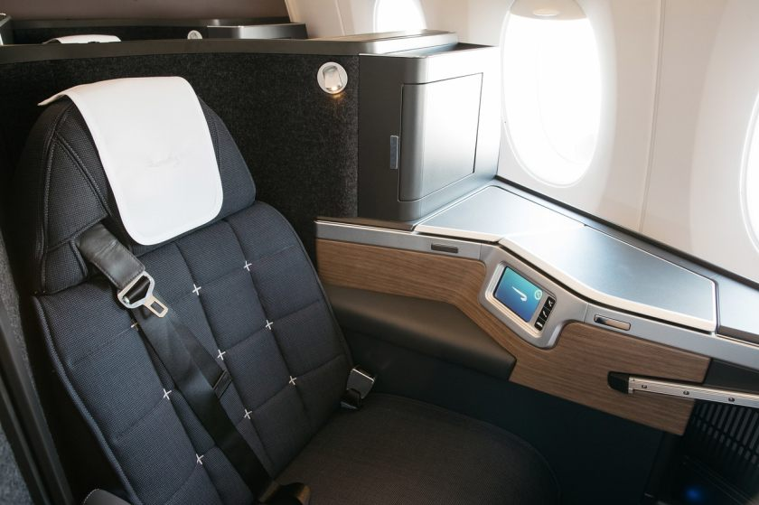 British Airways Airbus A350-1000 Club Suite