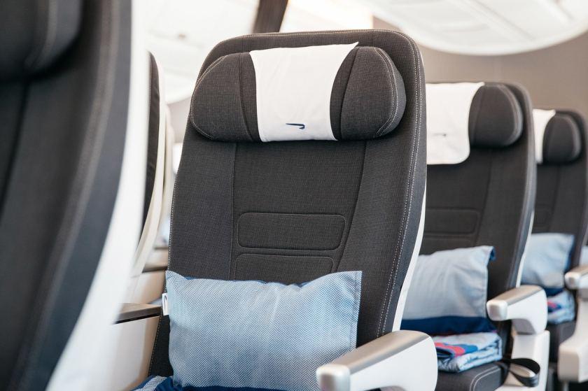 British Airways Airbus A350-1000 World Traveller Plus Cabin