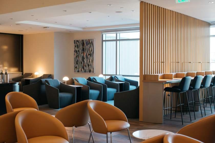 British Airways lounge, San Francisco International