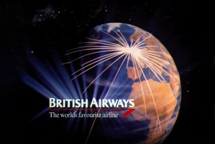 "British Airways, ""The World's Favourite Airline"", 1983."