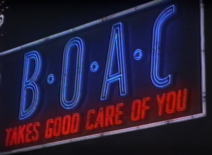 """""""BOAC Takes Good Care Of You"""""""