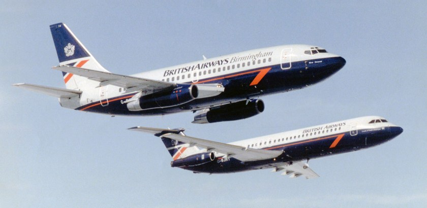 British Airways Birmingham Liveried Aircraft