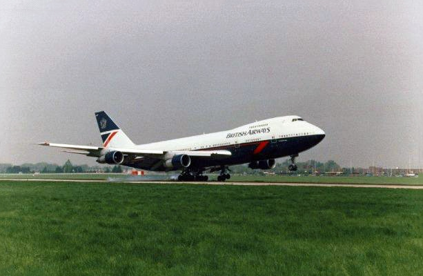 British Airways Boeing 747-200 Aircraft Landor Livery