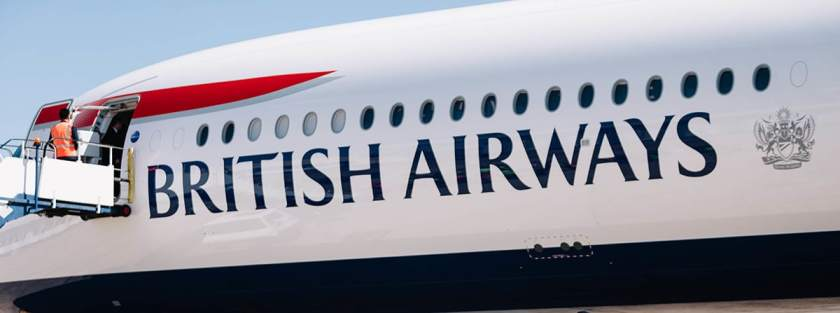 British Airways Coat Of Arms - Airbus A350-1000 Aircraft