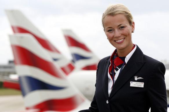 BA100: 13  The British Airways Uniform – London Air Travel