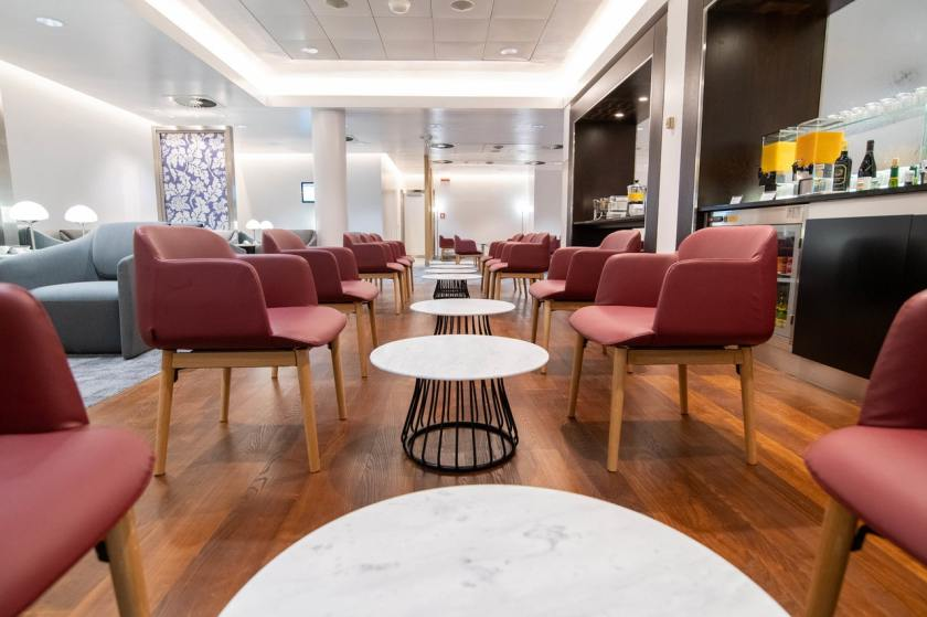 British Airways Lounge Milan Linate Airport
