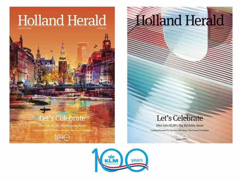 KLM Centenary Edition of Holland Magazine