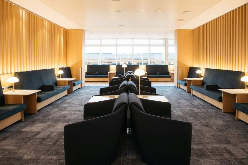 British Airways lounge, Geneva airport