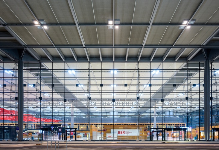 Berlin Brandenburg Airport Terminal November 2019