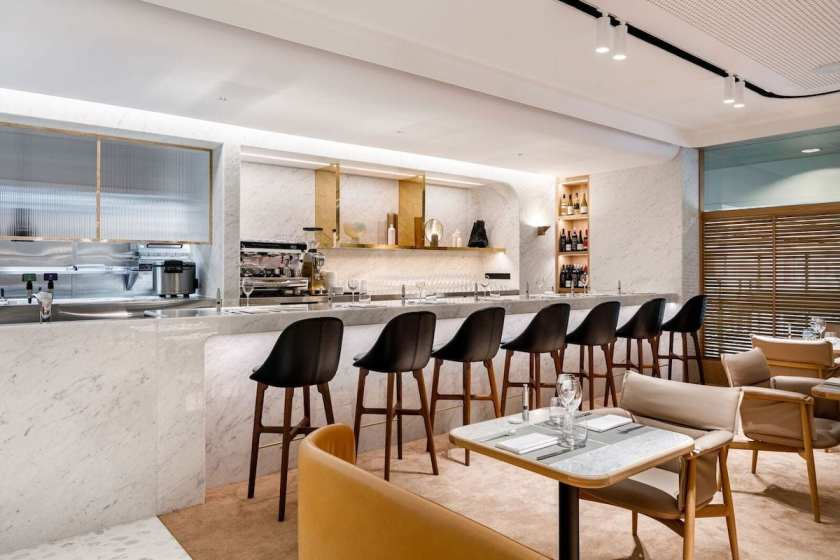 Qantas First Lounge Singapore