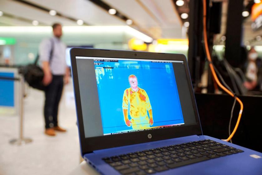 Heathrow Airport Temperature Check Trial