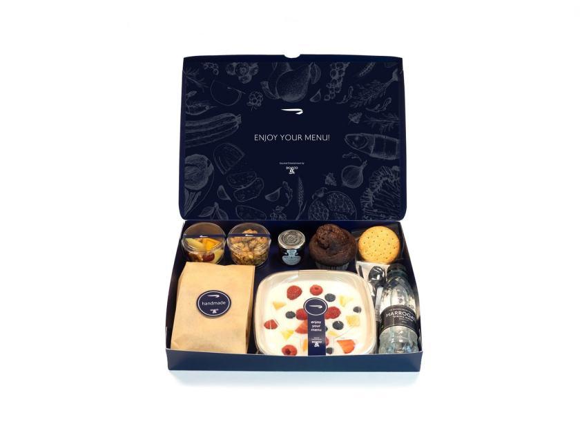 British Airways Club World Breakfast Meal Box, June 2020