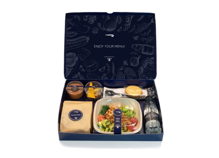 British Airways Club World All Day Meal Box, June 2020