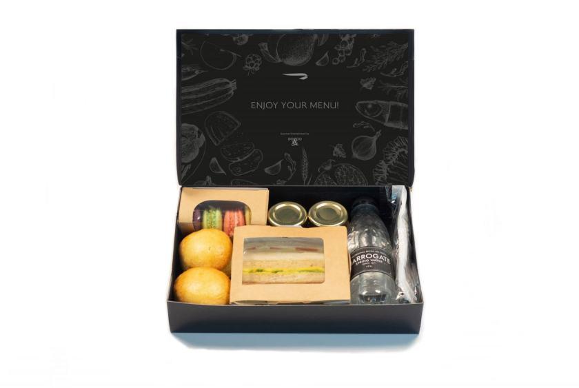 British Airways First Class Afternoon Tea Box, June 2020
