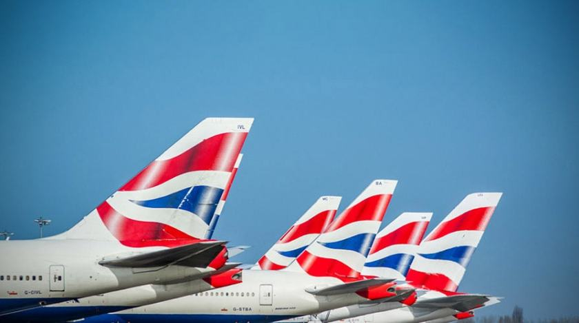 British Airways Tail Fins, London Heathrow
