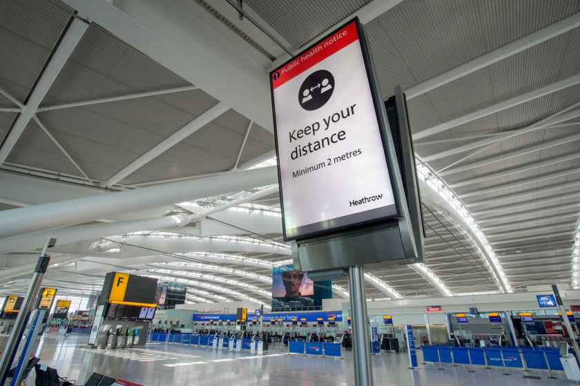 Terminal 5A, London Heathrow