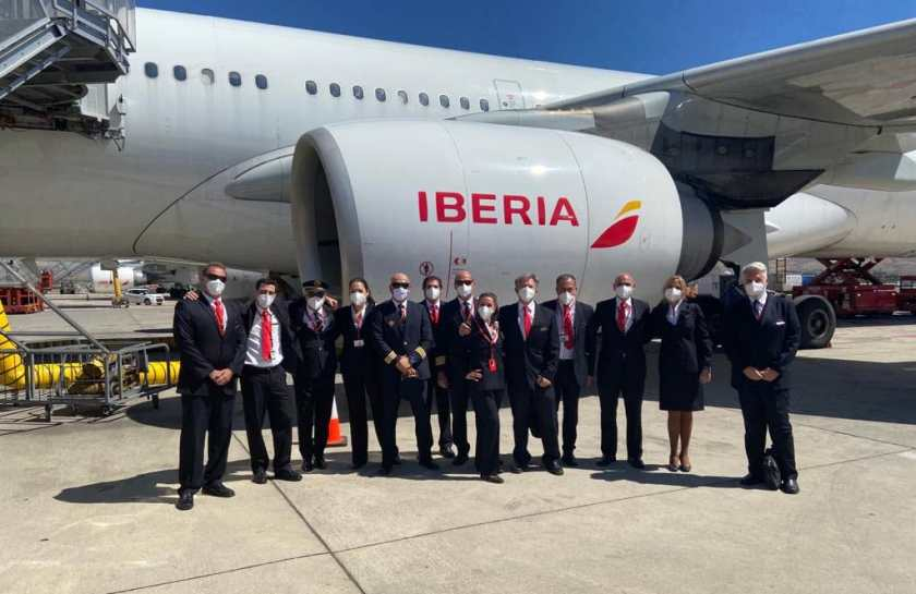 Iberia's final scheduled Airbus A340-600 flight, Quito to Madrid, 1 August 2020