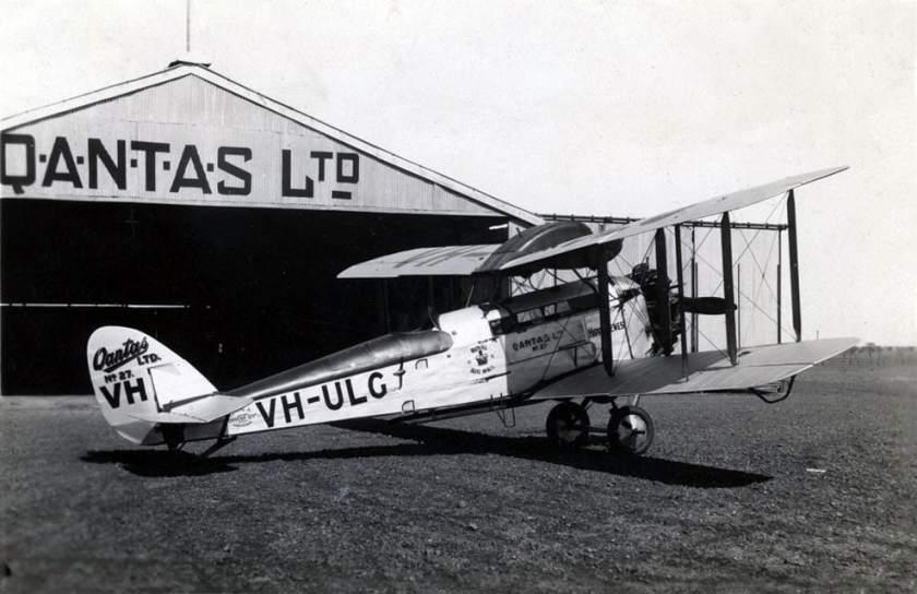 Qantas De Havilland DH50 Aircraft