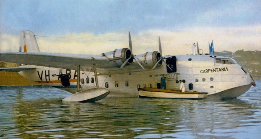 Qantas Empire Airways Flying Boat Carpentaria VH-ABA