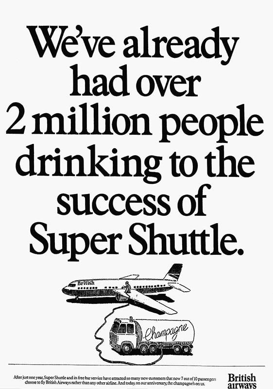 British Airways Super Shuttle August 1984