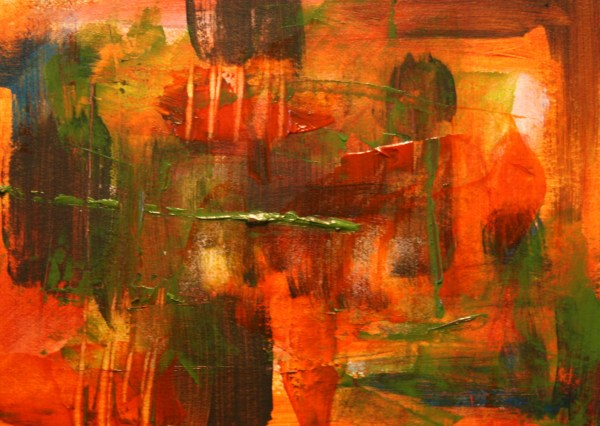 Abstract Painting Laura . Tetrault Art