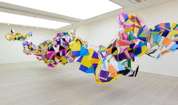 Saatchi Gallery Exhibition Paper