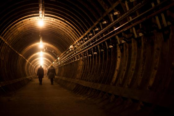 Charing Cross Tunnels as part of the Hidden London tours