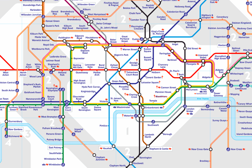 Transport For London Map.The Transport For London World Cup Experience London