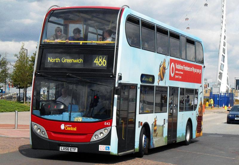 London Bus Routes  Route 486 Bexleyheath Shopping