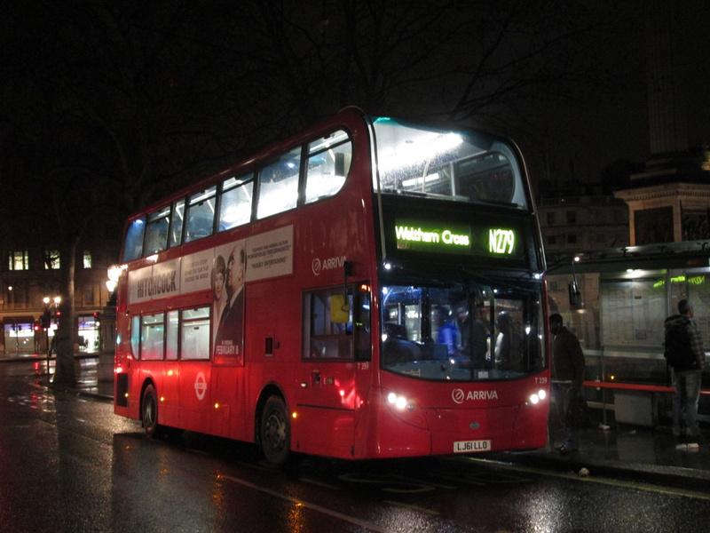London Bus Routes  Route N279 Waltham Cross  Trafalgar