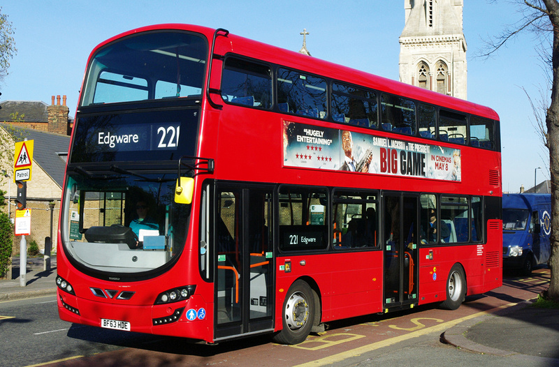 London Bus Routes  Route 221 Edgware  Turnpike Lane Station