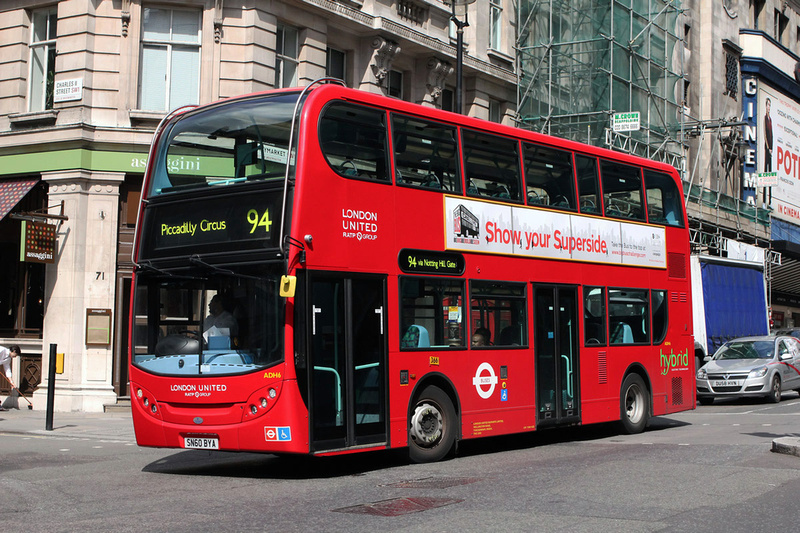 London Bus Routes  Route 94 Acton Green  Piccadilly Circus