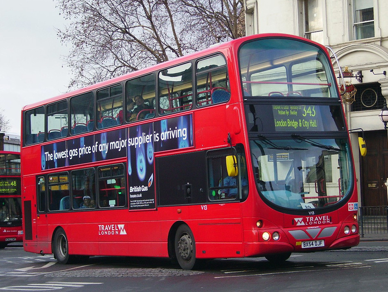 London Bus Routes  Route 343 City Hall  New Cross Gate