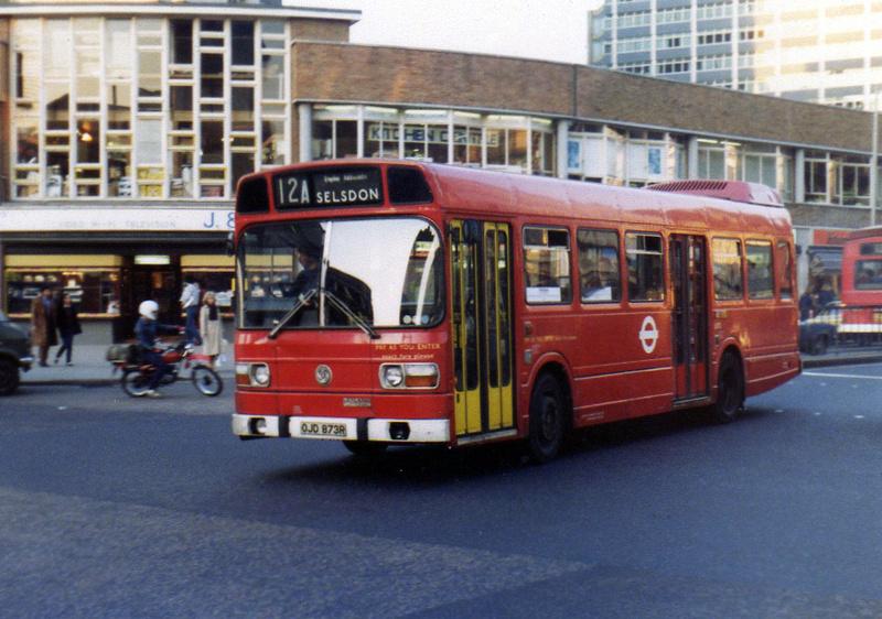 London Bus Routes   Route 12A: Peckham - East Croydon [Withdrawn]