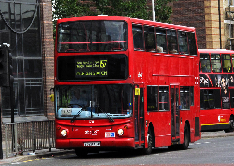 London Bus Routes  Route 157 Crystal Palace  Morden