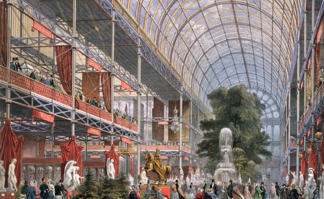 The Crystal Palace London By Gaslight