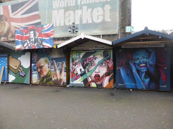 Street Art Camden Lock Market London Calling