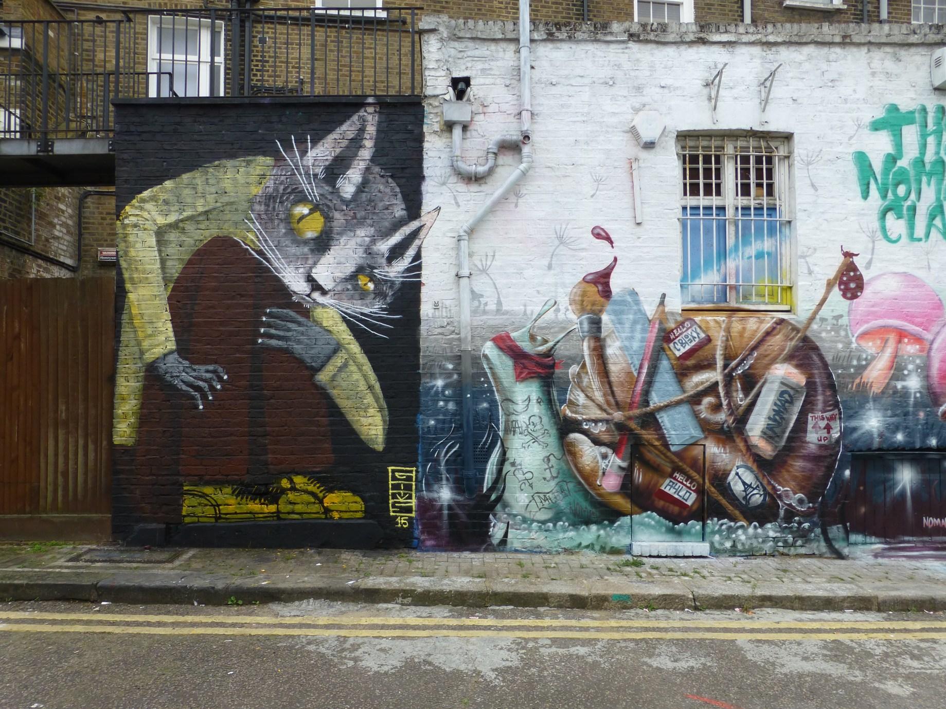 Street Art Guide Camden Town London Calling