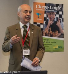 Alexander Kostyev, Head of Chess Chair, Russian State Social University, Chess and Universities