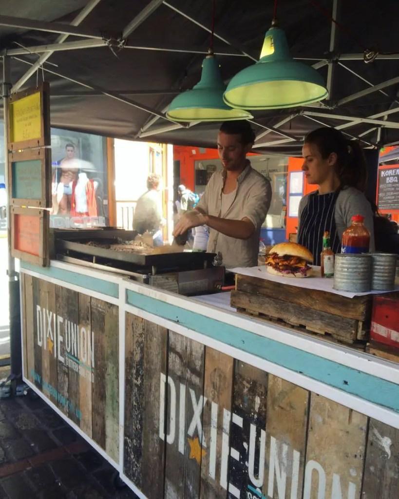 Berwick Street Market & Street Food Union, Soho