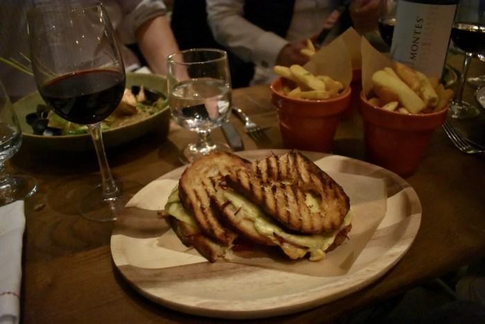 Rail House Cafe Reuben Sandwich Victoria London