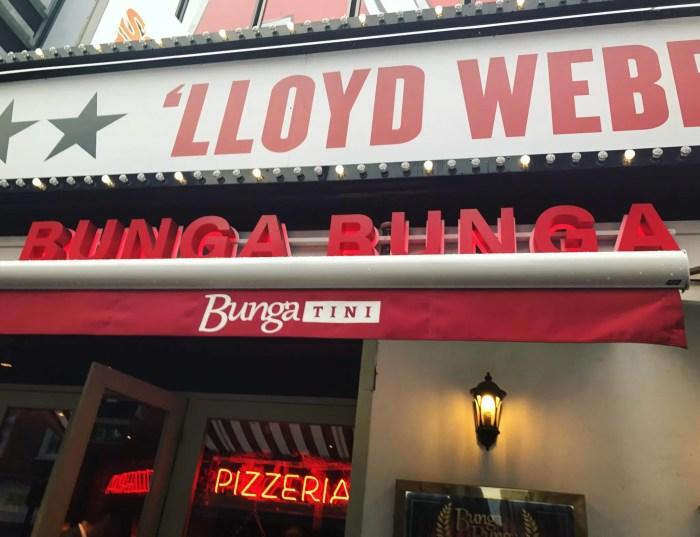 Bunga Bunga Italian Restaurant and Karaoke Bar in Covent Garden