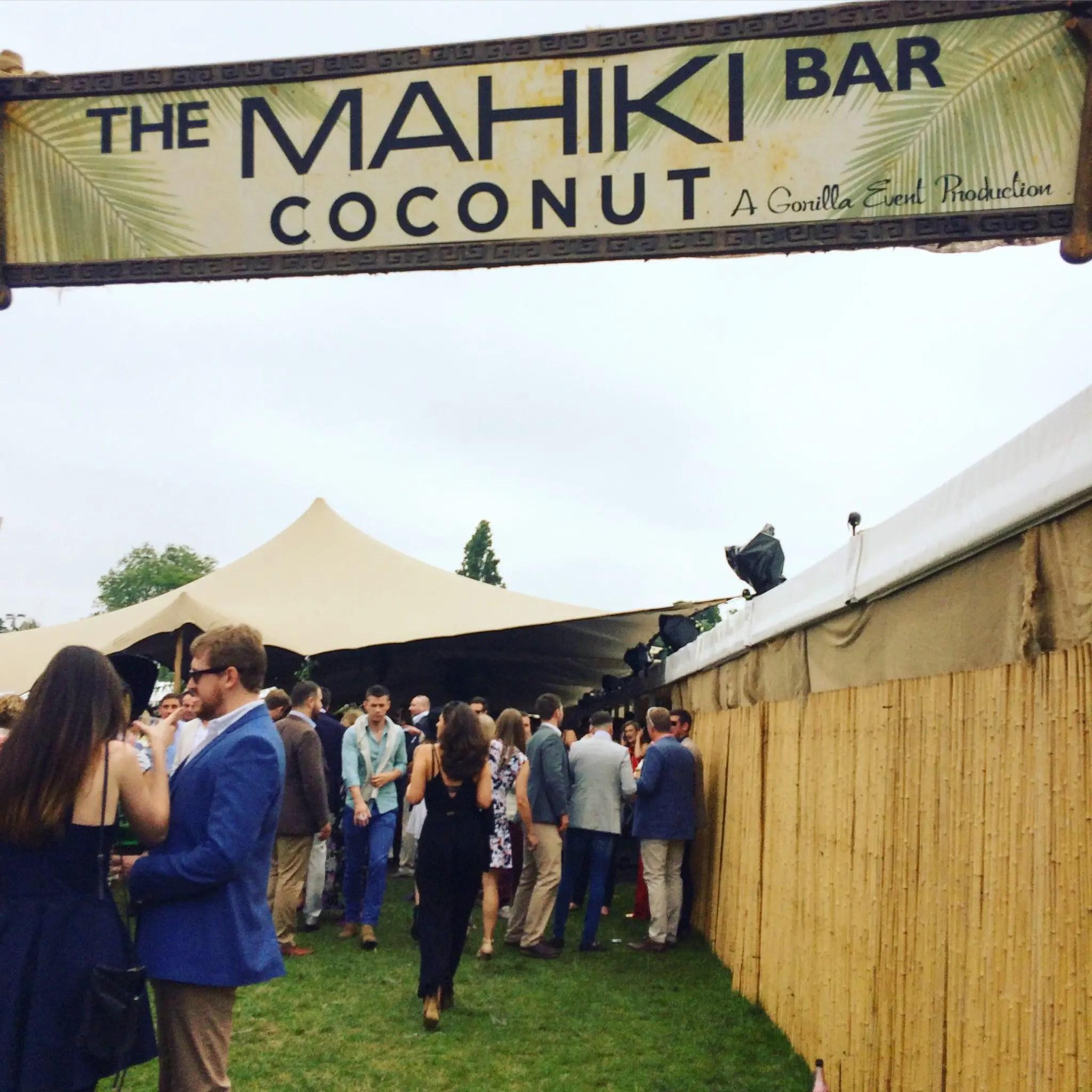 Mahiki Bar at Chesterton's Polo in the Park