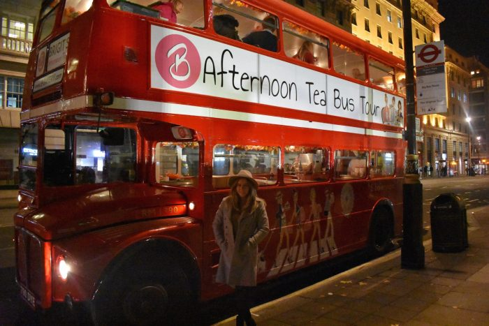 BBakery Afternoon Tea Bus