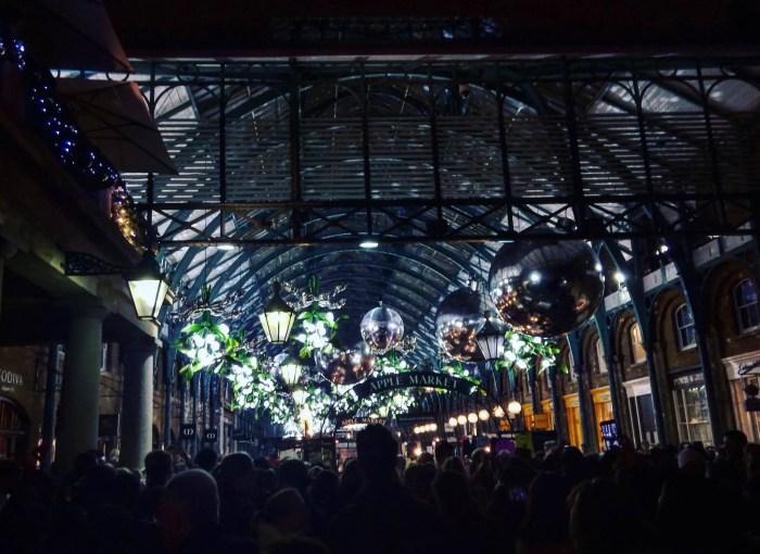 Covent Garden London Christmas Lights