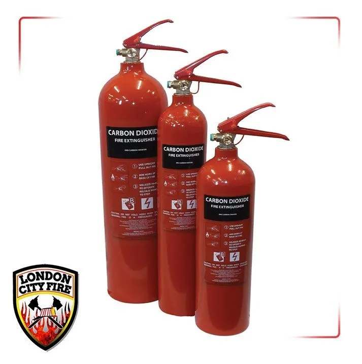 Carbon Dioxide Fire Extinguishers London City Fire