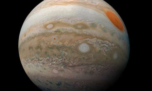 Juno spacecraft of NASA discovers alterations in Jupiter's internal magnetic field
