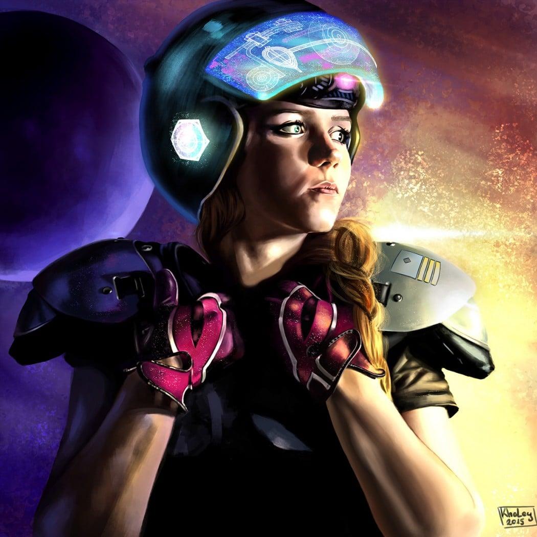 Space Soldier - Nikoletta Vaszi