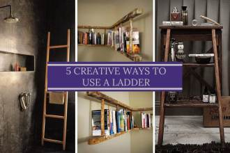 5 Creative Ways To Use A Ladder